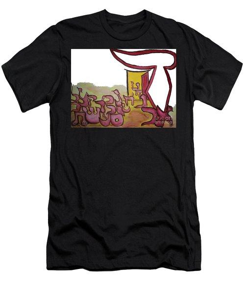 Dalet An Open Door Ab16 Men's T-Shirt (Athletic Fit)