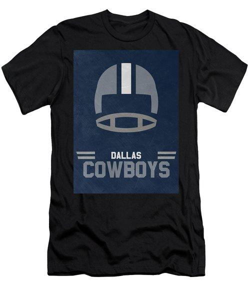 Dallas Cowboys Vintage Art Men's T-Shirt (Athletic Fit)