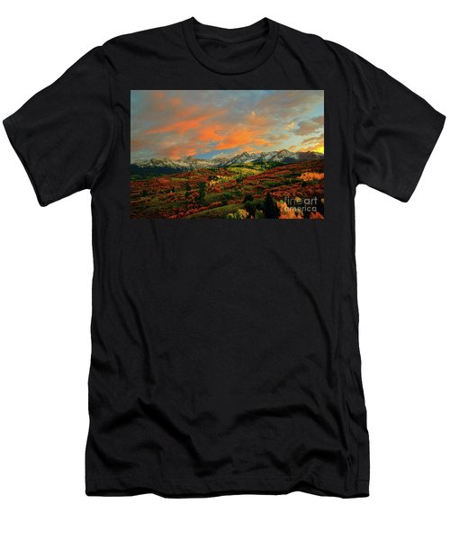 Dallas Divide Sunset - 2 Men's T-Shirt (Athletic Fit)