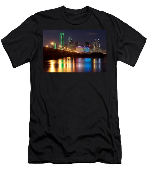 Dallas Reflections Men's T-Shirt (Athletic Fit)