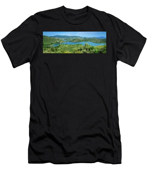 Dalmatian Coast Panorama, Dalmatia, Croatia Men's T-Shirt (Athletic Fit)