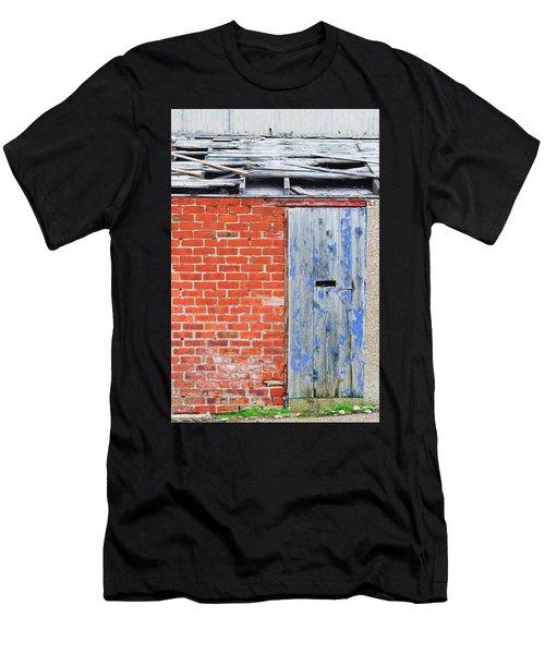 Damaged Roof Men's T-Shirt (Athletic Fit)
