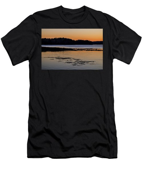 Damariscotta Twilight Men's T-Shirt (Athletic Fit)