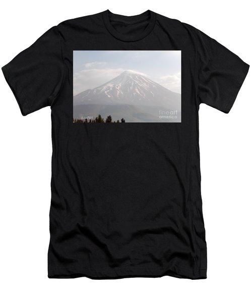 Damavand Mountain  Men's T-Shirt (Athletic Fit)