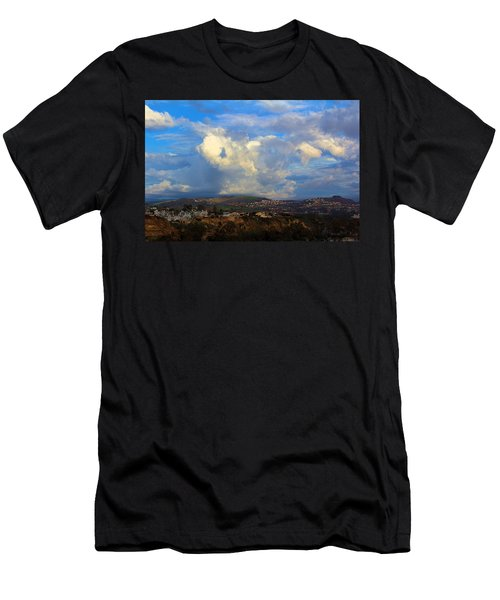Dana Point View From Cliff Men's T-Shirt (Athletic Fit)