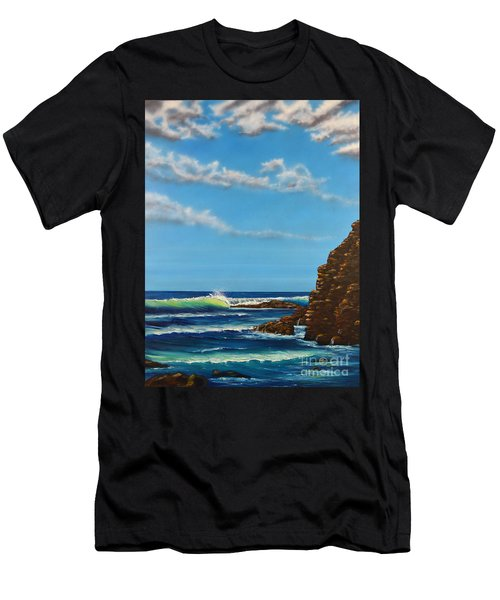 Dana Point Walk Men's T-Shirt (Athletic Fit)