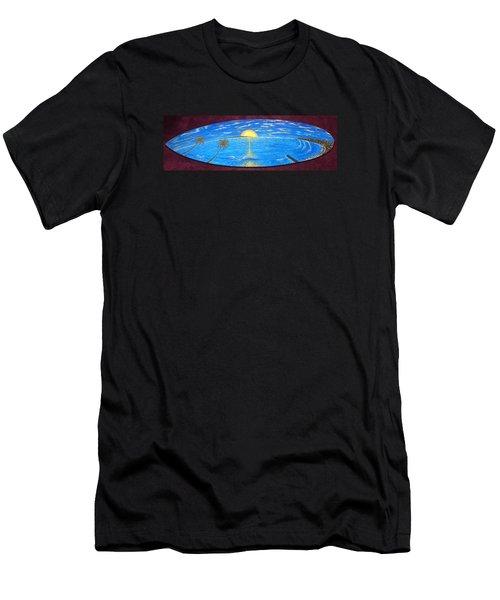 Dana Point Yesterday  Men's T-Shirt (Athletic Fit)