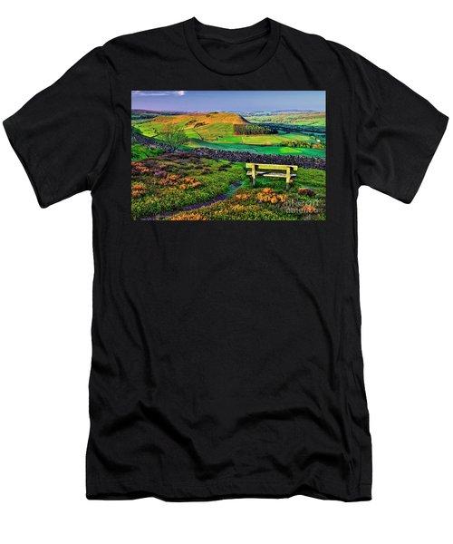 Danby Dale Yorkshire Men's T-Shirt (Athletic Fit)