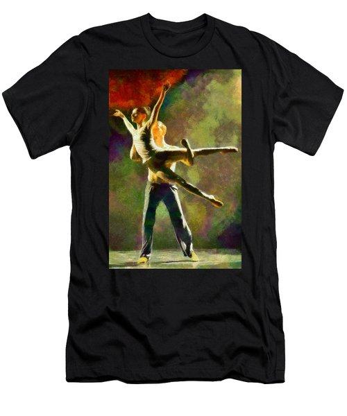 Dance 3 Men's T-Shirt (Athletic Fit)