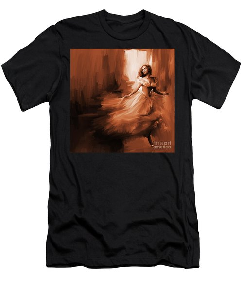 Dance In A Dream 01 Men's T-Shirt (Athletic Fit)
