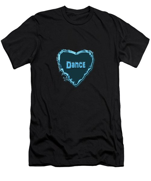 Dance Men's T-Shirt (Slim Fit) by Linda Prewer
