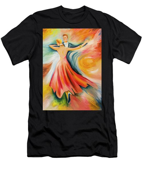Dance Me To The End Of Time Men's T-Shirt (Athletic Fit)