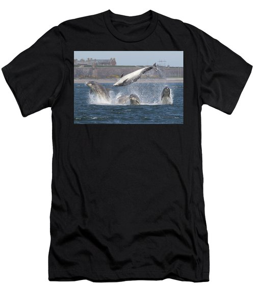 Dance Of The Dolphins Men's T-Shirt (Athletic Fit)