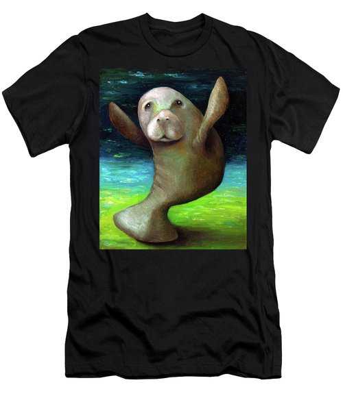 Dance Of The Manatee Men's T-Shirt (Athletic Fit)