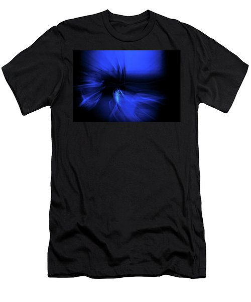 Dance Swirl In Blue Men's T-Shirt (Athletic Fit)
