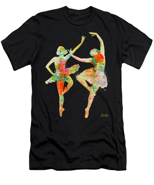 Dance With Me Men's T-Shirt (Athletic Fit)