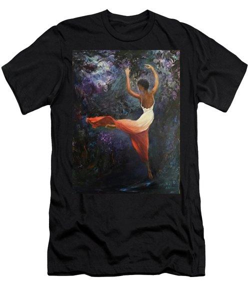 Dancer A Men's T-Shirt (Athletic Fit)