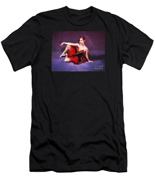 Dancer No. 6  ... Men's T-Shirt (Athletic Fit)