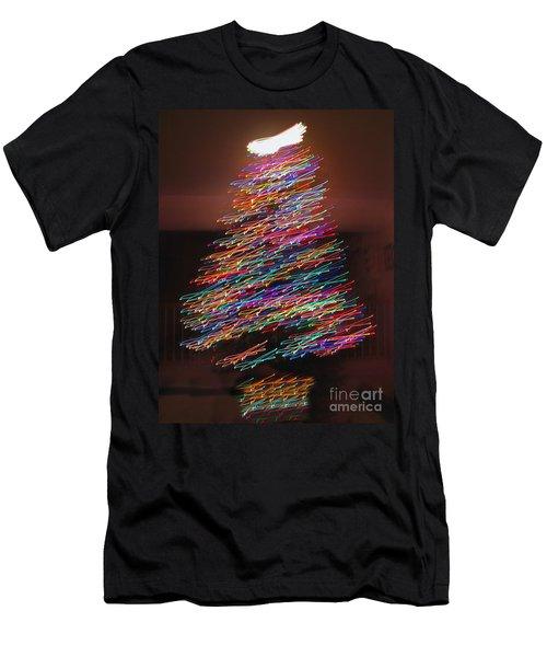 Dancin' Yule Men's T-Shirt (Athletic Fit)