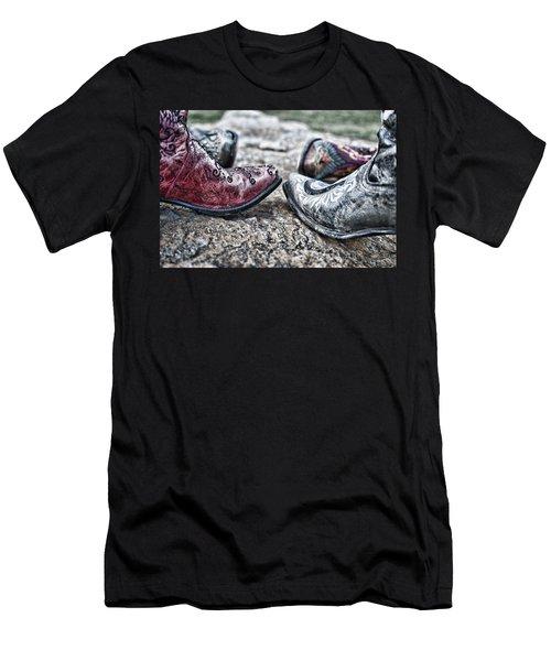 Dancing Boots Men's T-Shirt (Athletic Fit)
