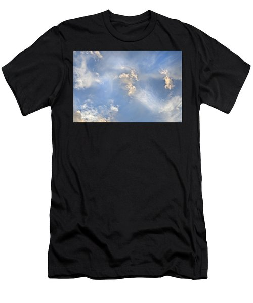 Dancing Clouds Men's T-Shirt (Athletic Fit)