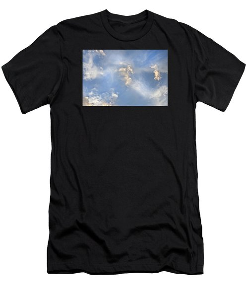 Dancing Clouds Men's T-Shirt (Athletic Fit)