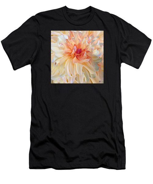 Dancing Dahlia Men's T-Shirt (Athletic Fit)