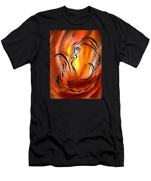 Dancing Fire I Men's T-Shirt (Athletic Fit)