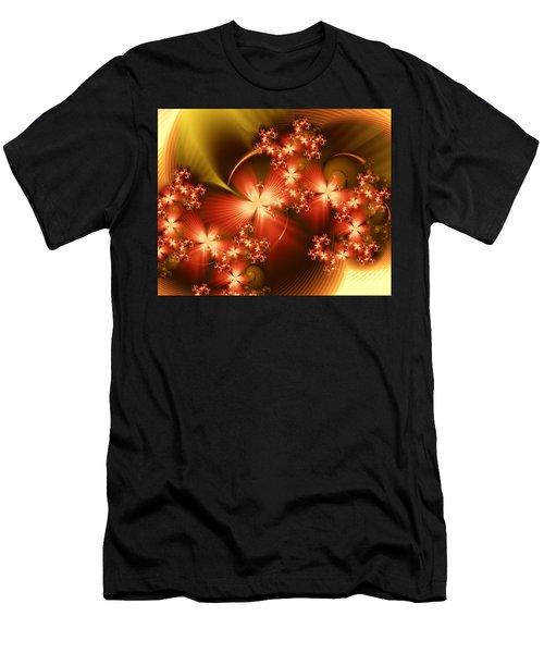Dancing In Autumn Men's T-Shirt (Athletic Fit)