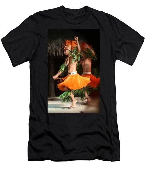 Dancing In Tahiti Men's T-Shirt (Athletic Fit)