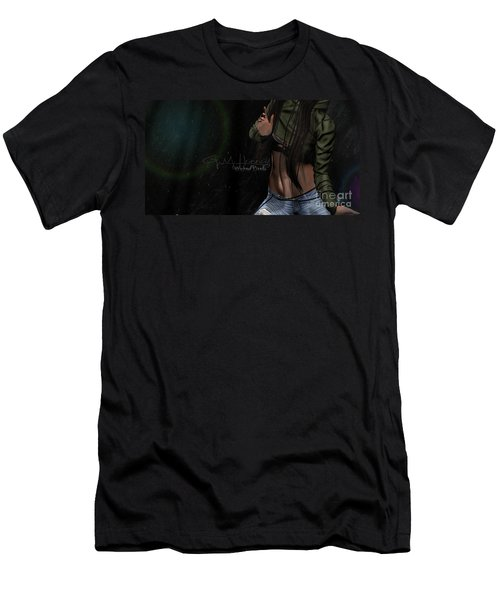 Dancing In The Rain 1 Men's T-Shirt (Athletic Fit)
