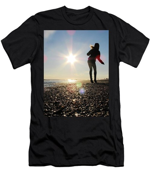 Dancing In The Sun Men's T-Shirt (Athletic Fit)