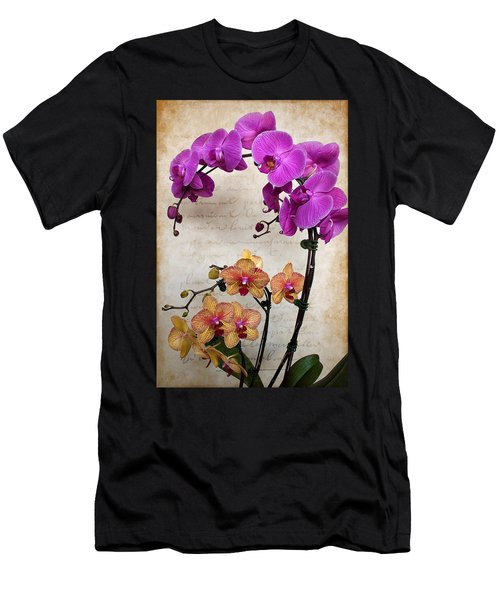 Dancing Orchids Men's T-Shirt (Athletic Fit)