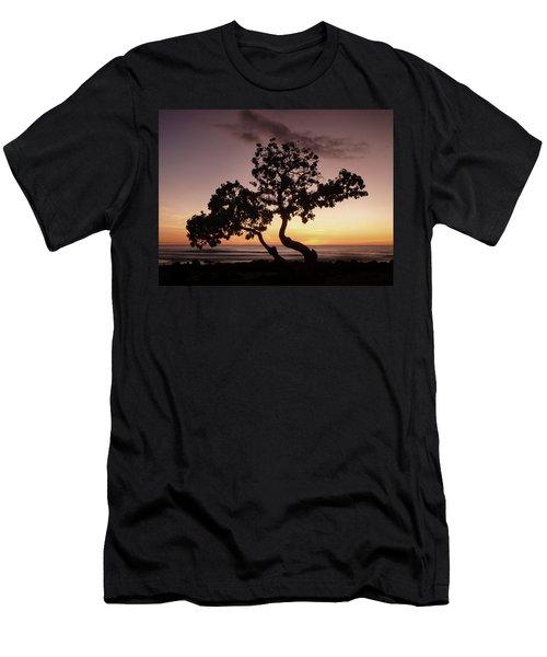 Dancing Trees Men's T-Shirt (Athletic Fit)