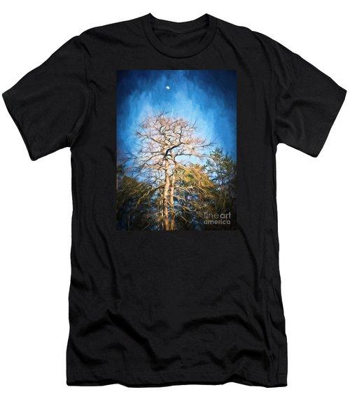 Dancing Under The Moon Men's T-Shirt (Slim Fit) by Kerri Farley