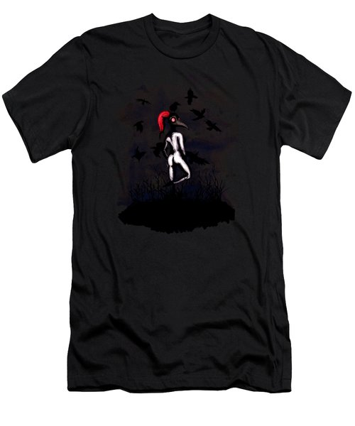 Dancing With Crows Men's T-Shirt (Athletic Fit)