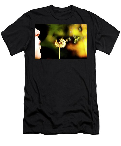 Dandelion Heart  Men's T-Shirt (Athletic Fit)