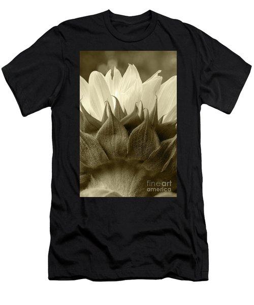 Dandelion In Sepia Men's T-Shirt (Athletic Fit)