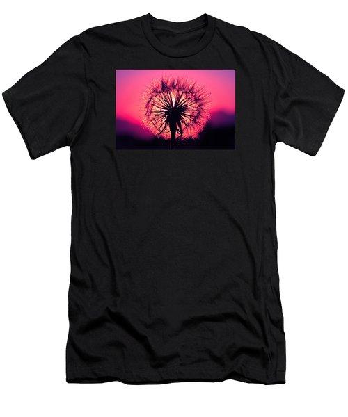 Dandelion Men's T-Shirt (Slim Fit) by Paul Marto