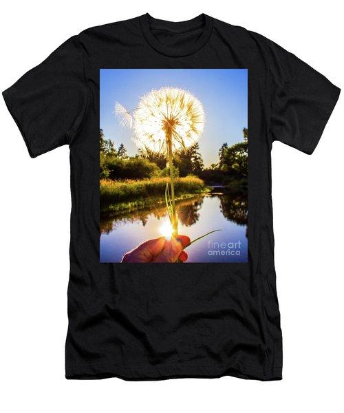 Dandy Lion Men's T-Shirt (Athletic Fit)