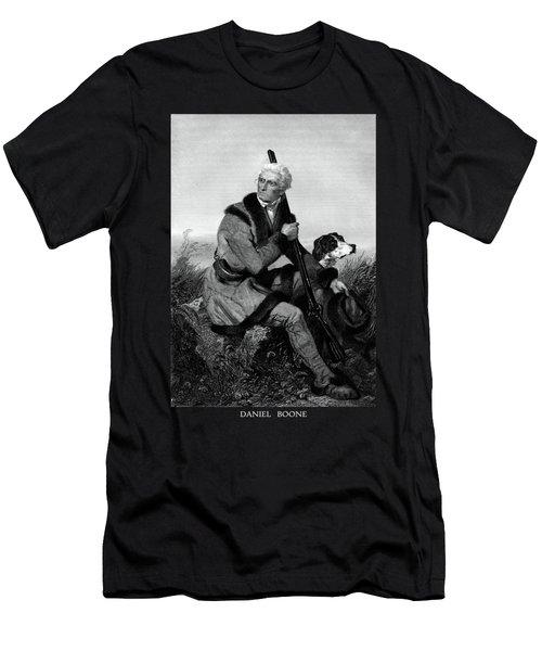 Daniel Boone Men's T-Shirt (Athletic Fit)