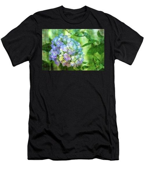 Dappled Light Hydrangea 2300 Idp_2 Men's T-Shirt (Athletic Fit)
