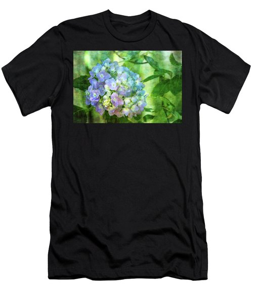 Dappled Light Hydrangea 2300 Idp_2 Men's T-Shirt (Athletic Fit)