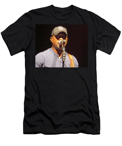 Darius Rucker Live Men's T-Shirt (Slim Fit) by Aaron Martens