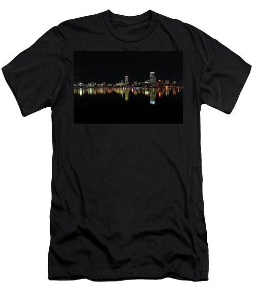 Dark As Night Men's T-Shirt (Slim Fit) by Juergen Roth