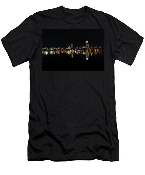 Dark As Night Men's T-Shirt (Athletic Fit)