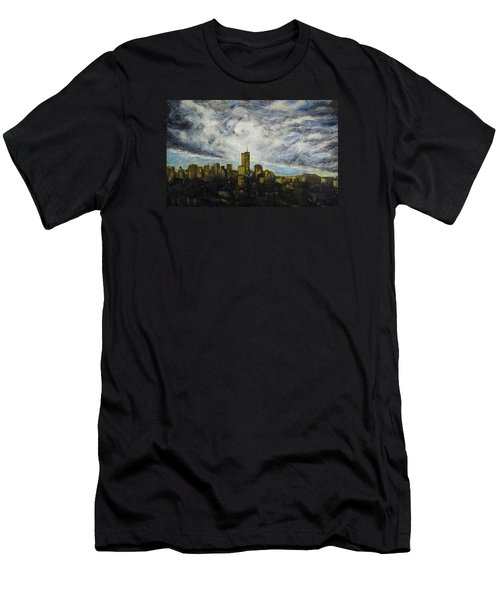 Dark Clouds Approaching 2 Men's T-Shirt (Athletic Fit)