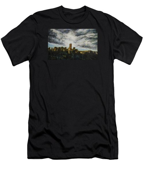 Dark Clouds Approaching Men's T-Shirt (Athletic Fit)