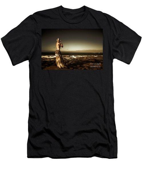 Dark Dramatic Fine Art Beauty Men's T-Shirt (Athletic Fit)