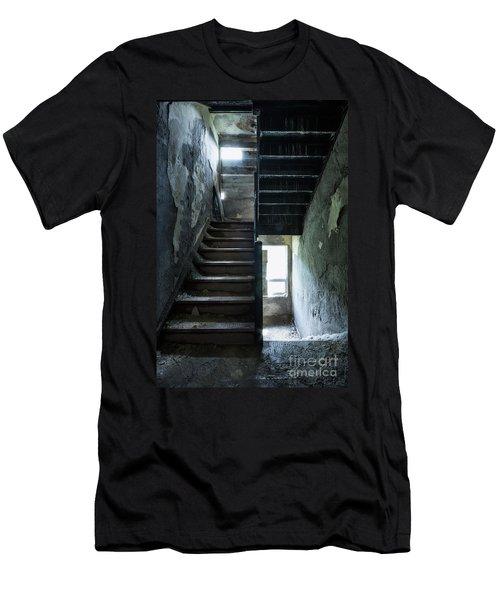 Dark Intervals Men's T-Shirt (Athletic Fit)